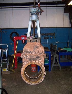 24 inch Gate Valve As Received